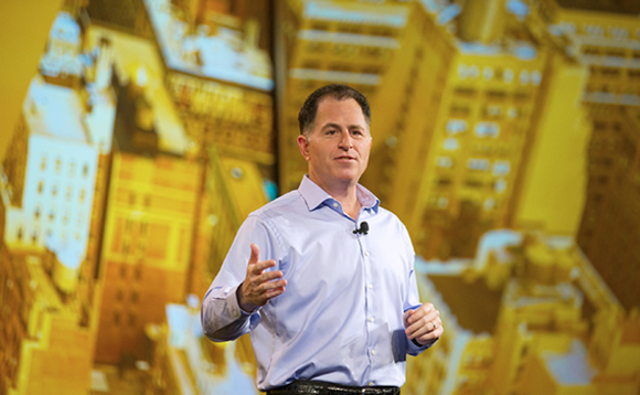 'Running circles around everyone else' Michael Dell taunts storage competitors on Twitter