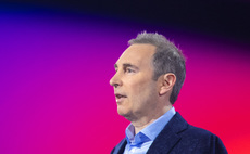 AWS CEO Andy Jassy giving the opening keynote at this year's re:Invent