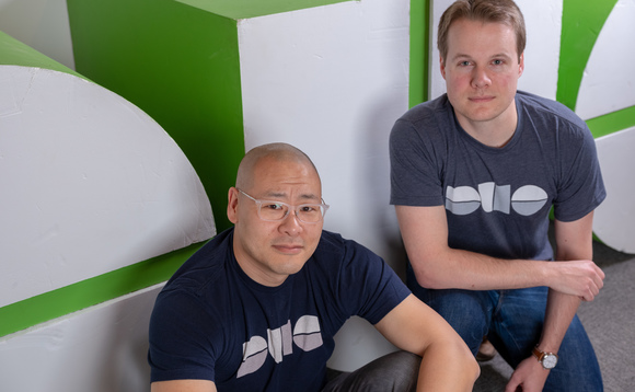 Dug Song, left, GM at Duo Security, pictured with co-founder Jon Oberheide