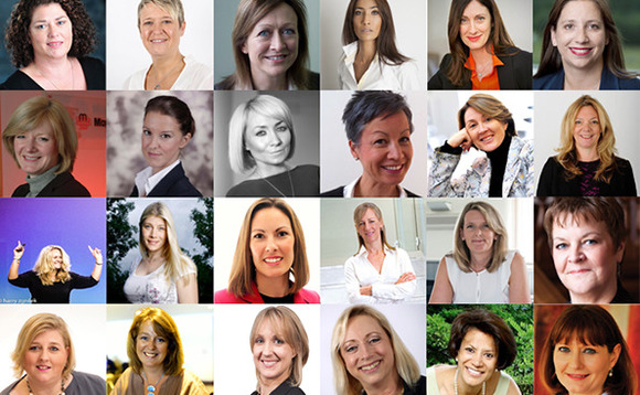 Top 50 most influential women in the UK channel