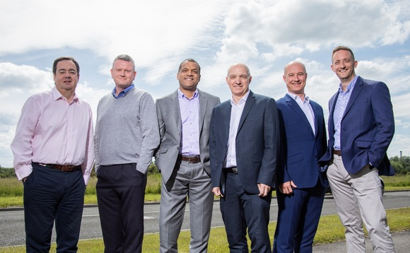 TruStack's directors Geoff Hodgson, Richard Common, Joe Olabode, Paul Watson, Phil Cambers and Russell Henderson