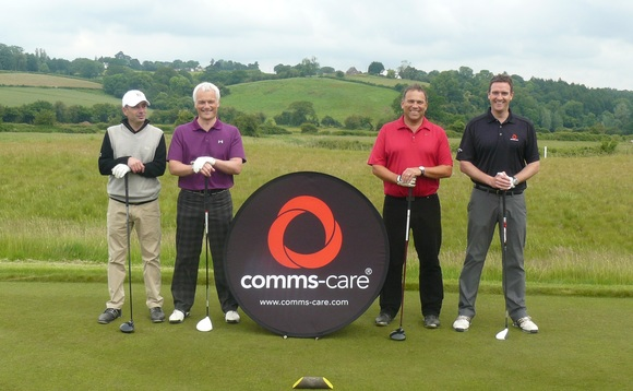 Comms-care holds fourth partner golf day