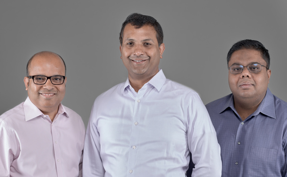 Confluera founders (from left to right): Bipul Sinha, chairman, Abhijit Ghosh, CEO, and Niloy Mukherjee, chief architect