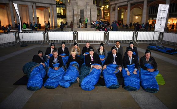 IT channel bigwigs sleep rough and raise £100,000