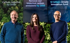 Microsoft reveals progress on carbon goals: 'This is both a giant leap and a modest step'