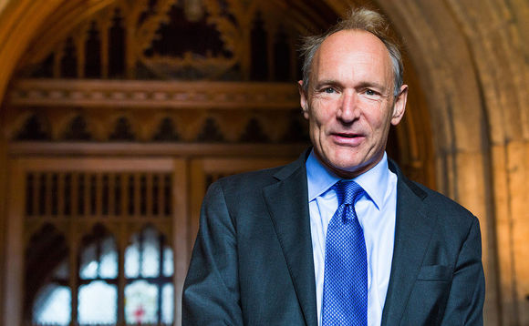 Sir Tim Berners-Lee, creator of the world wide web and advocate for Contract for Change