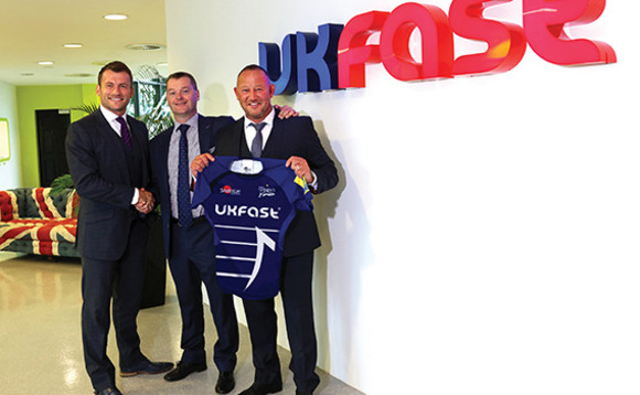 UKFast and Sale Sharks scrum down for sponsorship rematch
