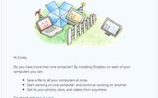 Dropbox open for business