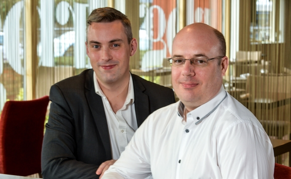 Phil Mercer, MD of PowerOn (left) with Steve Beaumont, his PowerOn co-founder and CTO