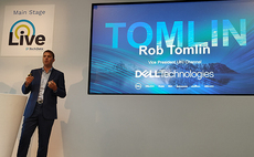 Dell EMC's Tomlin courts partners as vendor looks to double UK business