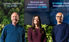 Microsoft sets out to become 'carbon negative' by 2030