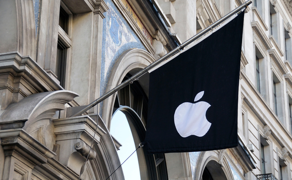 Apple gains $1tn in market value in five months
