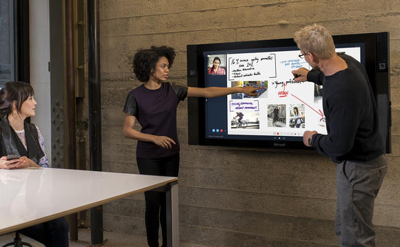Microsoft to limit Surface Hub to AV channel