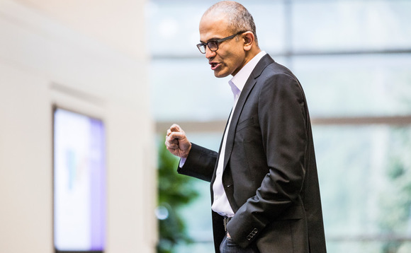 Nadella hails 'record-breaking year' for Microsoft