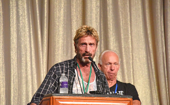John McAfee to take second tilt at US presidency
