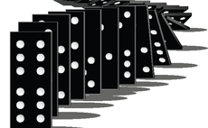 Domino effect: Fifth of bankruptcies caused by customer or supplier collapse