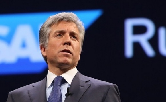 SAP CEO loses left eye