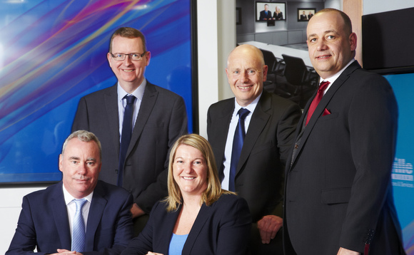 The new Saville board, from left to right, Graham Carling, Andy Dyson, Ann Pickard, Colin Nixey, Colin Etchells